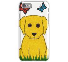 Randall the Retriever Dog Art iPhone Case/Skin