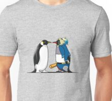 Super Penguin Harley Hero Puddin Movies Save World Gift Shirt Unisex T-Shirt