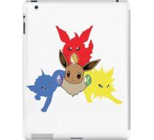 Three Eevee Evolutions iPad Case/Skin