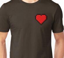 8-Bit Heart Unisex T-Shirt