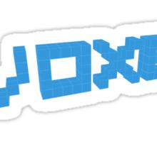 Voxel Based  Sticker