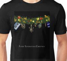 Supernatural Christmas Card  16 Unisex T-Shirt