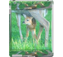 Mamma With Her New Born Baby iPad Case/Skin