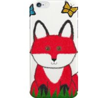 Ferdinand the Red Fox Art iPhone Case/Skin