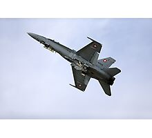 Swiss Air Force McDonnell Douglas F/A-18C Hornet Photographic Print