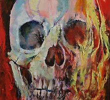 Skull Fire by Michael Creese