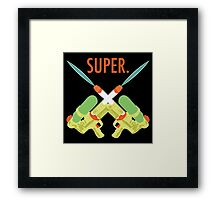 SUPER.  Framed Print