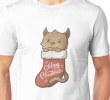 Christmas Kitty Unisex T-Shirt