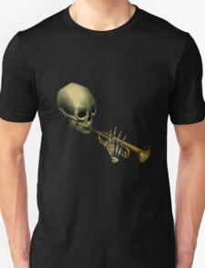 Spooky Skeltal Trumpet T-Shirt