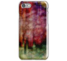 Fusion original abstract art by Ann Powell iPhone Case/Skin