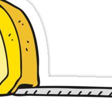 cartoon measuring tape Sticker