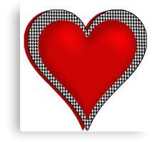 Crimson Heart Canvas Print