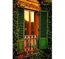 Golden Window Light Photographic Print