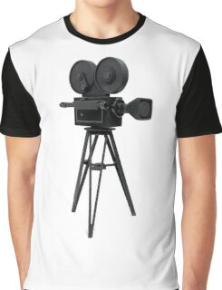 Film Camera Prop Graphic T-Shirt