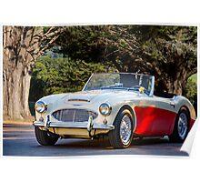1957 Austin-Healey 100-6 Roadster Poster