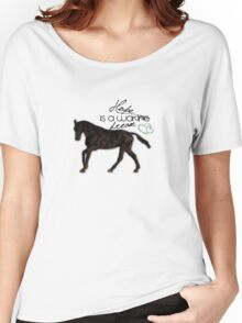 """Hope is a waking dream"" equestrian style Women's Relaxed Fit T-Shirt"