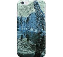 MERCED RIVER,WINTER iPhone Case/Skin