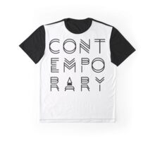 Contemporary  Graphic T-Shirt