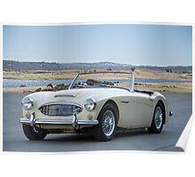 1963 Austin-Healey 3000 Roadster Poster
