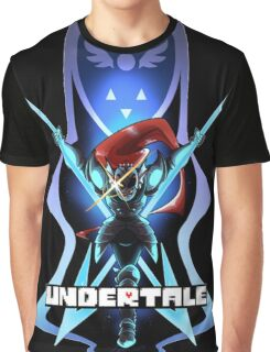 Undyne the Undying - Undertale Graphic T-Shirt