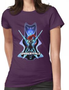 Undyne the Undying - Undertale Womens Fitted T-Shirt