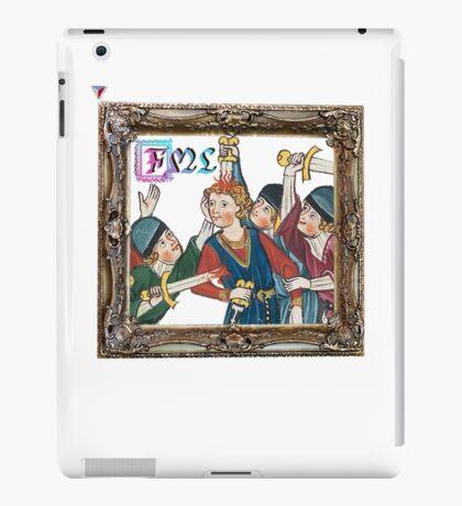 F**k My Life FML Funny Medieval Humor T-Shirt by Cyrca Originals iPad Case/Skin