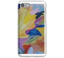 Leafy watercolour iPhone Case/Skin