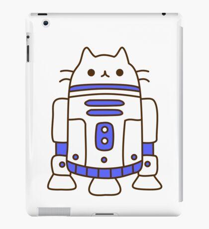 Cute Kawaii Cat Robot iPad Case/Skin