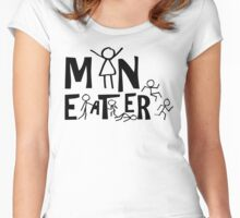 Man Eater Women's Fitted Scoop T-Shirt