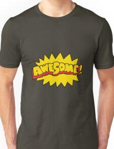 cartoon awesome symbol Unisex T-Shirt