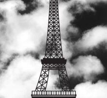 Paris Eiffel Tower Skyline Sticker