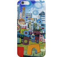 Home In The City iPhone Case/Skin