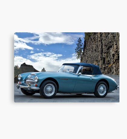 1966 Austin-Healey 3000 MKIII Roadster Canvas Print