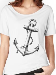 Vintage Anchor Women's Relaxed Fit T-Shirt