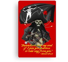 Blackbeard- No Quarter Canvas Print
