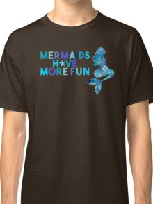 SUMMER MERMAID DARK TEAL by Monika Strigel Classic T-Shirt