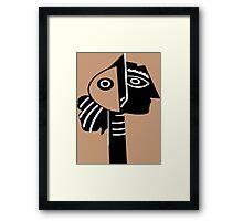 PICASSO's HANGOVER....! Framed Print