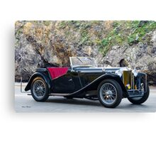 1948 MG TC Roadster Canvas Print