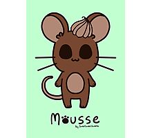 Sweet Treat Friends - Mousse the Mouse Photographic Print