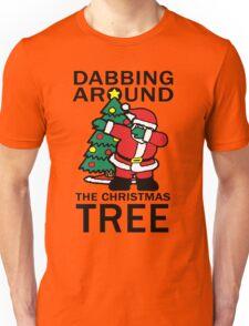 DABBING AROUND THE CHRISTMAS TREE Unisex T-Shirt
