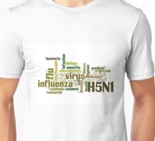 flu, h5n1 Unisex T-Shirt