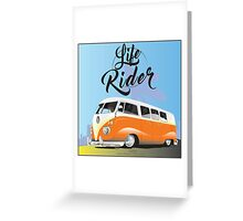 Camper time is now! Greeting Card