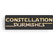 Constellation Skirmishes Canvas Print
