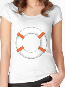 Life Saver Women's Fitted Scoop T-Shirt