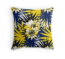 Elegant Tropical Throw Pillow