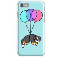 Balloon Bernese Mountain Dog iPhone Case/Skin