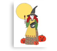Witch Treats? Canvas Print