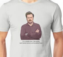 Ron Swanson Parks and Rec Quote Unisex T-Shirt