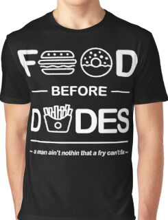 Chris Crocker - Food Before Dudes Tee Graphic T-Shirt
