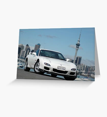 RX7 Greeting Card